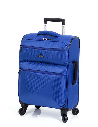 Skyway Bridgeport LP 19 Inch Spinner Suitcase-BLUE-19