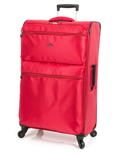 Skyway Bridgeport LP 28 Inch Spinner Suitcase-RED-28