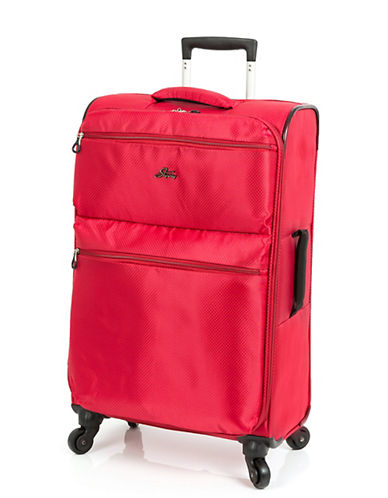 Skyway Bridgeport LP 24 Inch Spinner Suitcase-RED-24
