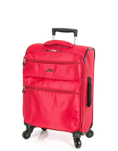 Skyway Bridgeport LP 19 Inch Spinner Suitcase-RED-19