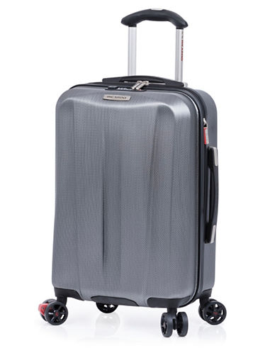 Ricardo Beverly Hills Vernon San Clemente 18 Inch Expandable Spinner Suitcase-CHARCOAL-19