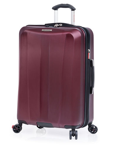Ricardo Beverly Hills San Clemente 25 Inch Expandable Spinner Suitcase-BURGUNDY-25