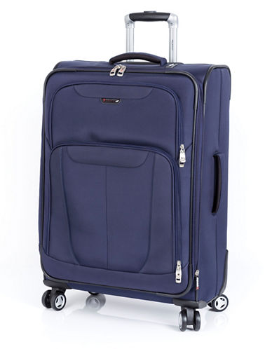 Ricardo Beverly Hills Fresno 25-Inch Expandable Spinner Suitcase-NAVY-25
