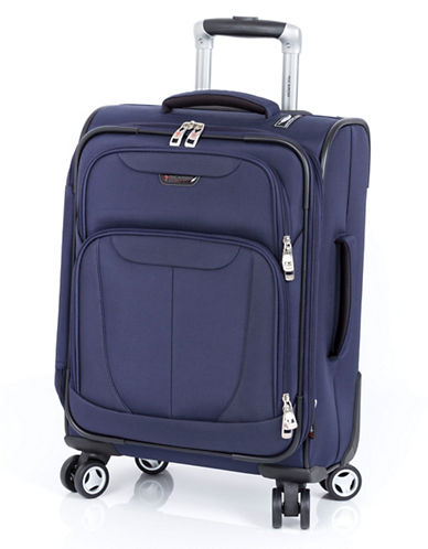 Ricardo Beverly Hills Fresno 19-Inch Expandable Spinner Suitcase-NAVY-19