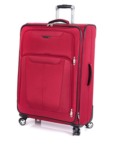 Ricardo Beverly Hills Fresno 29-Inch Expandable Spinner Suitcase-RED-29