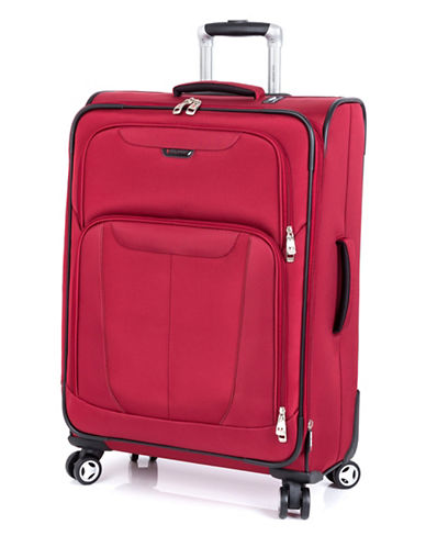 Ricardo Beverly Hills Fresno 25-Inch Expandable Spinner Suitcase-RED-25