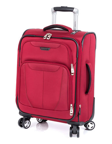 Ricardo Beverly Hills Fresno 19-Inch Expandable Spinner Suitcase-RED-19