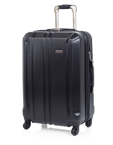 Ricardo Beverly Hills Vernon Expandable 24-Inch Spinner Suitcase-BLACK-One Size