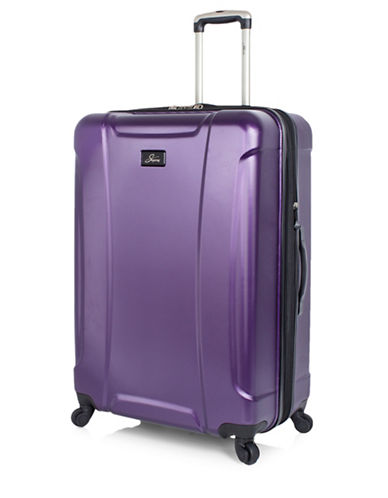 Skyway Chesapeake 28-Inch Expandable Hardside Spinner-PURPLE-28