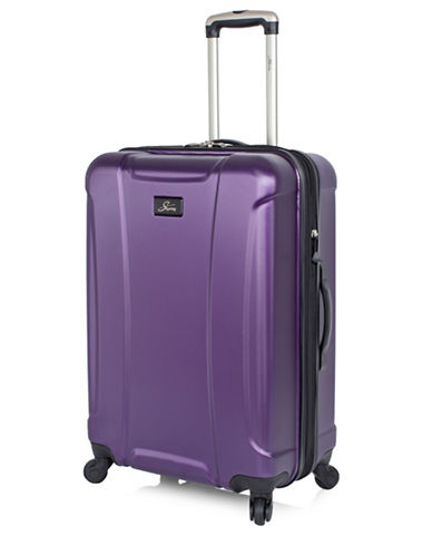 Skyway Chesapeake 24-Inch Expandable Hardside Spinner-PURPLE-One Size