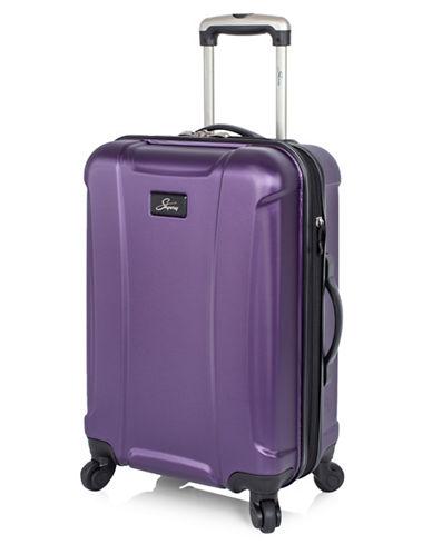 Skyway Chesapeake 19-Inch Expandable Hardside Spinner-PURPLE-19