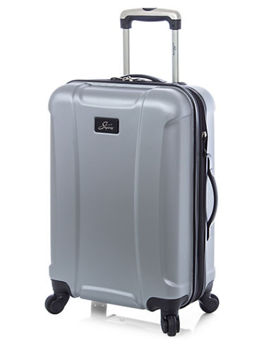 Skyway Chesapeake 19-Inch Expandable Hardside Spinner-CHARCOAL-19