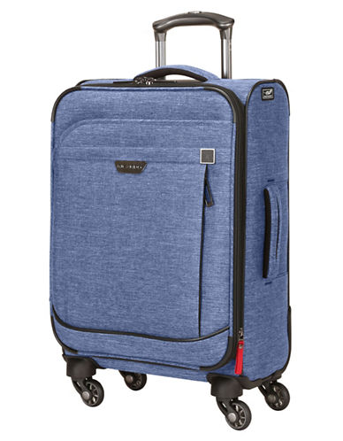 Ricardo Beverly Hills Malibu Bay 20-Inch Expandable Spinner Suitcase-BLUE-20