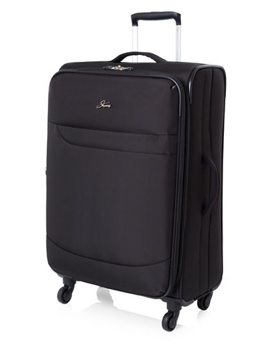 Skyway Whistler 24-Inch Spinner Suitcase-BLACK-24