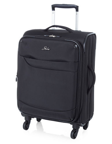 Skyway Whistler 19-Inch Spinner Suitcase-BLACK-19