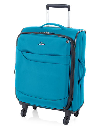 Skyway Whistler 19-Inch Spinner Suitcase-TEAL-19