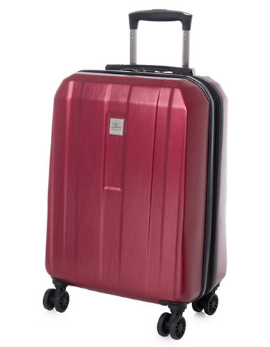Skyway Finesse 23-Inch Expandable Spinner Suitcase-RED-23