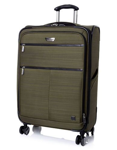 Ricardo Beverly Hills Sausalito 3.0 25-Inch Expandable Spinner Luggage with RFID protection-GREEN-25