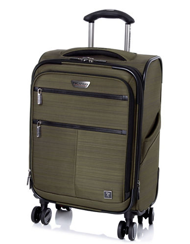 Ricardo Beverly Hills Sausalito 3.0 19-Inch Expandable Spinner Luggage with RFID Protection-GREEN-19