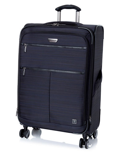 Ricardo Beverly Hills Sausalito 3.0 25-Inch Expandable Spinner Luggage with RFID protection-NAVY-25