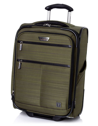 Ricardo Beverly Hills Sausalito 3.0 20-Inch Expandable Upright Luggage with RFID protection-GREEN-20
