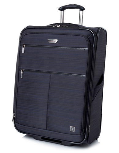 Ricardo Beverly Hills Sausalito 3.0 25-Inch Expandable Upright Luggage with RFID protection-NAVY-25