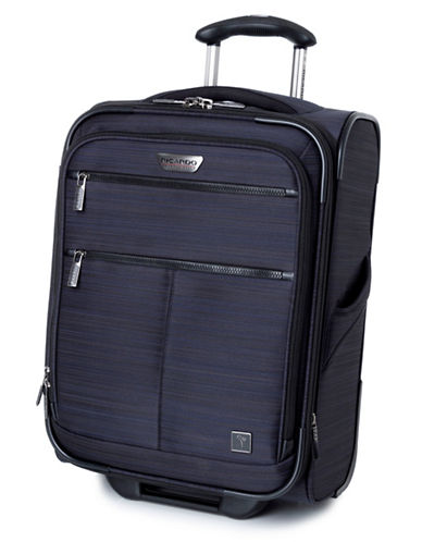 Ricardo Beverly Hills Sausalito 3.0 20-Inch Expandable Upright Luggage with RFID protection-NAVY-20