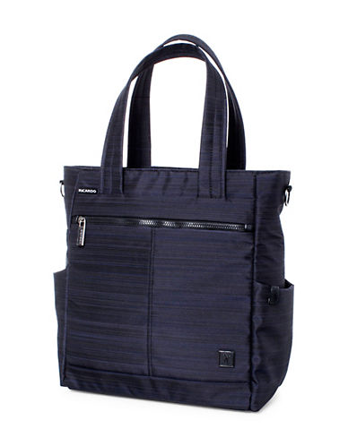 Ricardo Beverly Hills Sausalito 3.0 16-Inch Rolling Tote Luggage-NAVY-One Size
