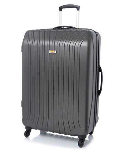 Via Rail Jasper 28-Inch Expandable Spinner Suitcase-GREY-28