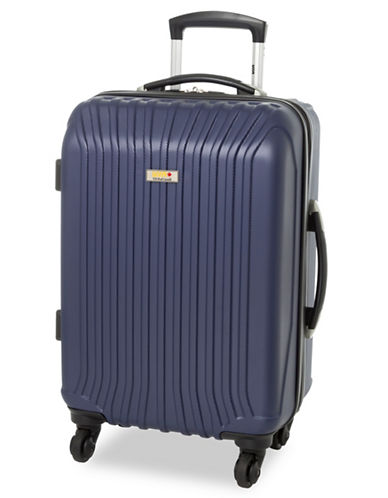 Via Rail Jasper 19-Inch Spinner Suitcase-NAVY-19
