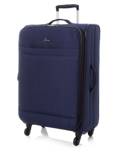 Skyway Whistler 24-Inch Spinner Suitcase-NAVY-24