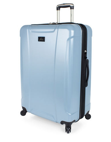 Skyway Chesapeake 28-Inch Expandable Hardside Spinner-BLUE-28