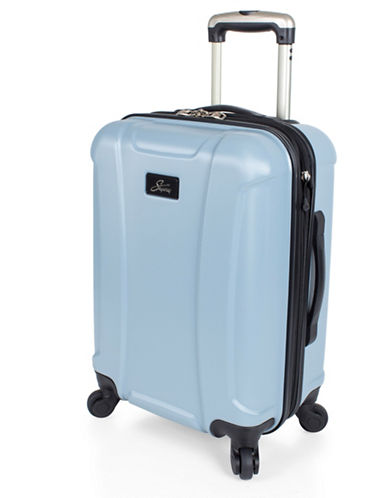 Skyway Chesapeake 19-Inch Expandable Hardside Spinner-BLUE-19
