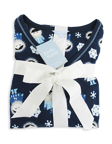 Emily And Jane Eskimo Girl Sleep Shirt-NAVY-X-Large