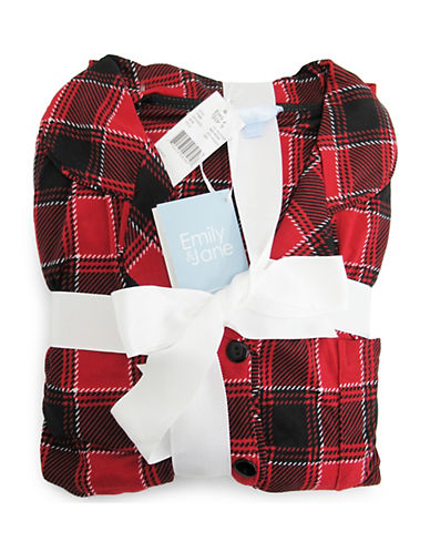 Emily And Jane Nordic Scottie Pyjamas-RED-Medium