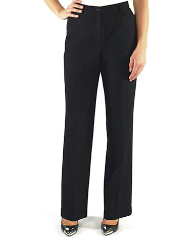 Haggar Essential Pant-BLACK-14