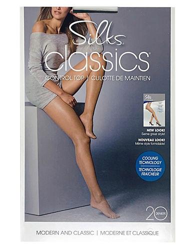Silks Silks Control Top Pantyhose-LINEN-D