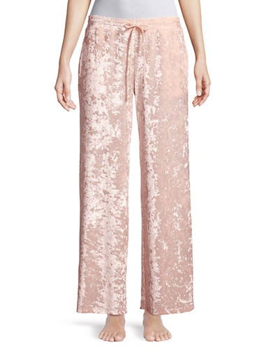 Hue Crushed Velvet Pant-LOTUS-Small