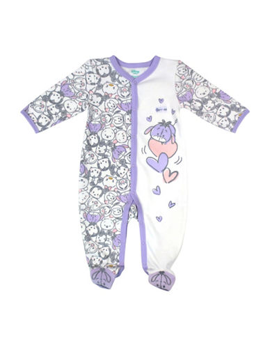 Disney Eeyore Footed Sleeper-PURPLE-Newborn