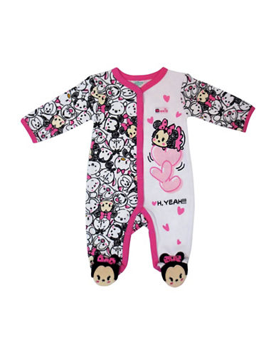 Disney Minnie Footed Sleeper-PINK-9 Months