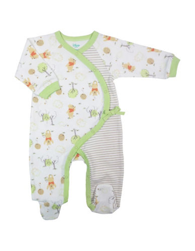 Disney Characters Asymmetrical Footed Sleeper-NATURAL-12 Months