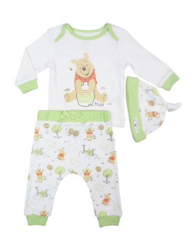 Disney Winnie the Pooh Three-Piece Set-NATURAL-Newborn