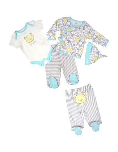 Disney Take Me Home Winnie the Pooh Four-Piece Set-BLUE-3 Months