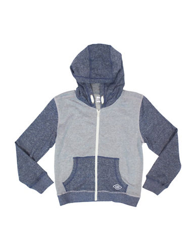 Rococo French Terry Hoodie-BLUE-Small 88515460_BLUE_Small