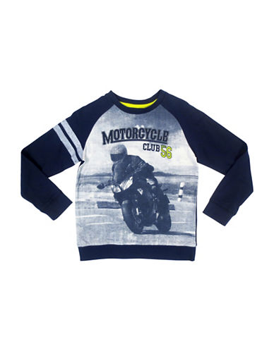 Rococo Motorcycle Club T-Shirt-BLUE-X-Large 88515535_BLUE_X-Large