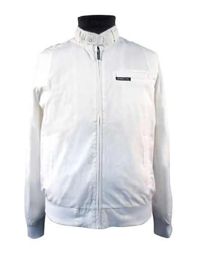 Members Only Iconic Racer Jacket-WHITE-X-Large 89105960_WHITE_X-Large
