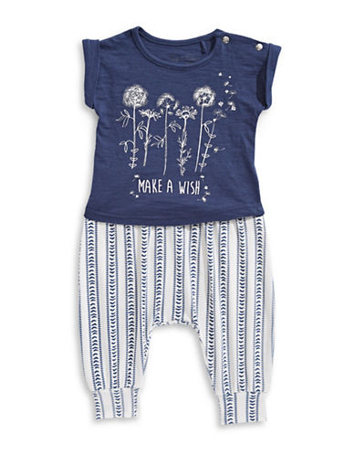 Jessica Simpson Two-Piece Day Tripper Set-BLUE-6-9 Months