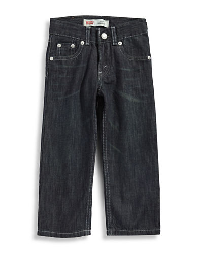 LeviS Slim Straight Jean-FUME BLUE-2