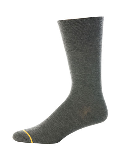 Goldtoe Mens Diabetic Solutions Dress Socks-GREY-10