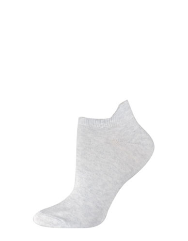 Silks Twist Tab Low Cut Socks-GREY-One Size